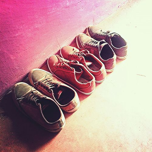 The shoes of