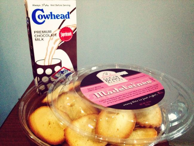 Breakfast? Madeleine Milk