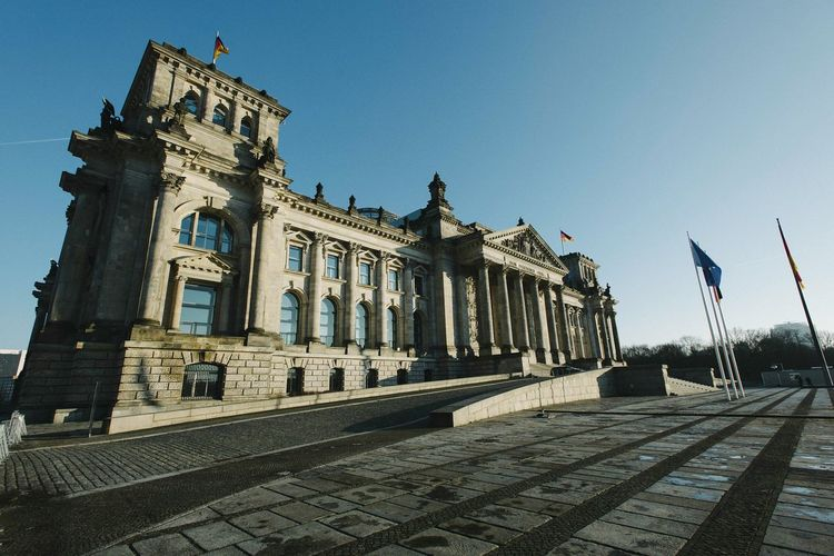 Government building in berlin