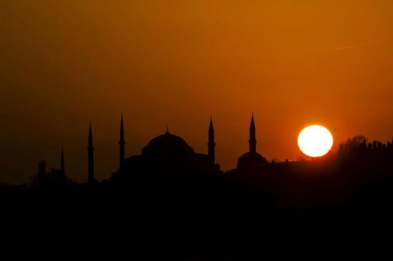 Hagia Sophia, Istanbul. . Istanbul Turkey Sky Sunset Taking Photos