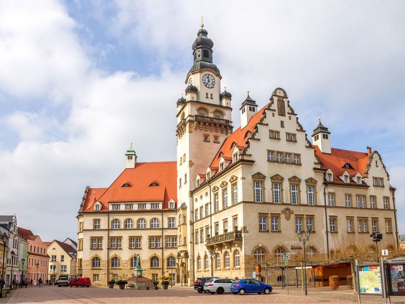 Döbeln Architecture City Hall Döbeln Architecture Cloud - Sky Day Germany No People Outdoors Saxony Tourism Town Hall Vacation