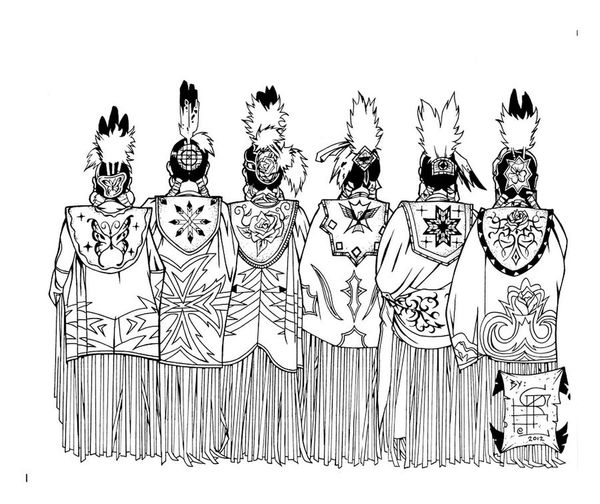Shoutout to the people carrying on our tradition. ✊? POWWOW TIME Native Pride Whussgoood Hoka Aho ImSoFancy Letsdance