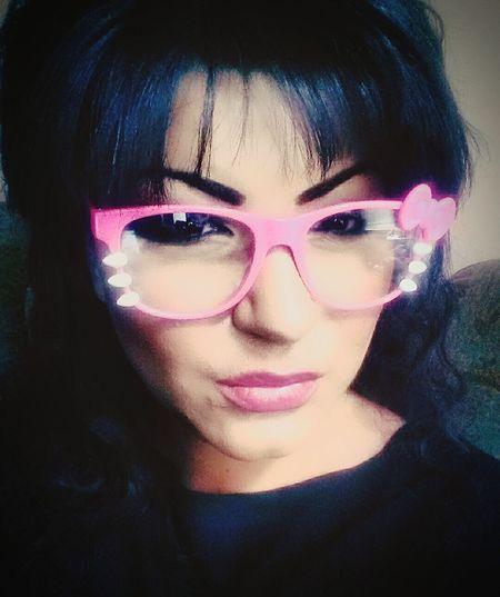 Hellokitty Hello Kitty Hello Kitty ❤ Hello Kitty <3 Hello Kitty!!! Hello Kitty Glasses That's Me Selfie ✌ Selfie ♥