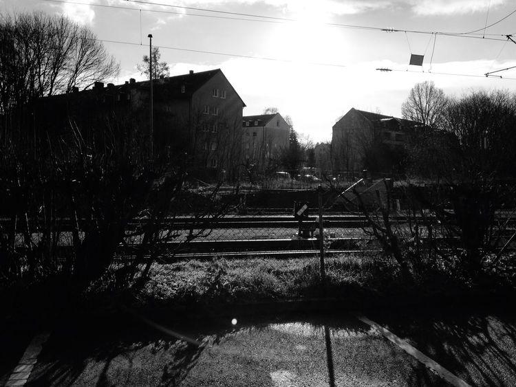 Seeing The Sights Train Station Erding Sun