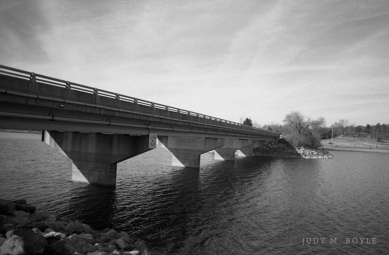 Film Photography 35mm Film Canonae1 Kodakbw400cn 28mm Lens Monochrome Perspective