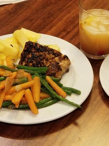 Home Cooking Mai Tai Mahi Mahi Delicious Food And Drink Freshness Healthy Eating Food Ready-to-eat Drinking Glass Indoors  Gourmet Healthy Lifestyle
