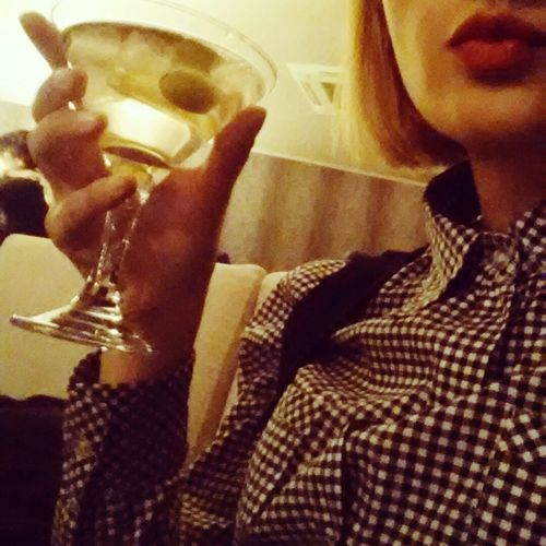 A Little Party Never Killed Nobody  Martini Evening Red Lips ❤