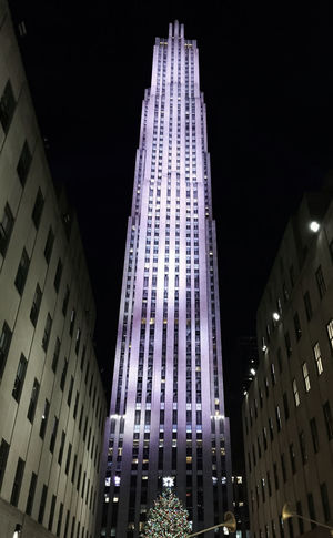 Rockefellerplaza Manhattan NYC Holiday