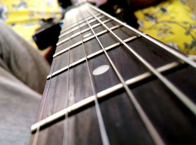 Musical Instrument Guitar Music Close-up Fretboard Epiphonelespaul Sp2 Mahagony Welcome To Black