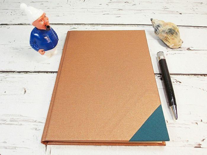 Copper  Notebook Diary New Idea Scatoli Traveling