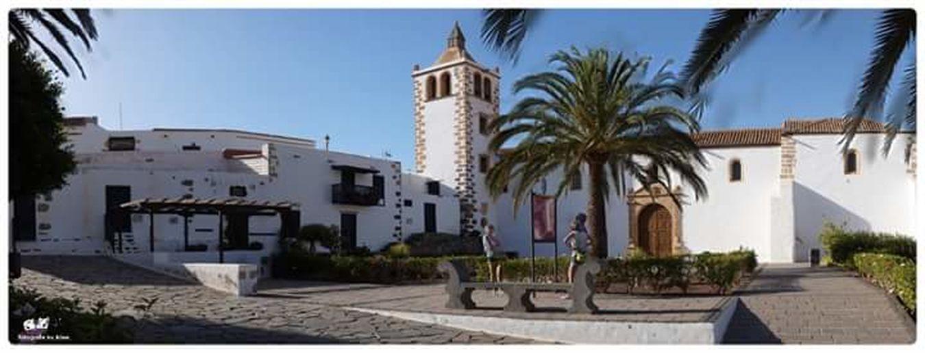 SPAIN Canary Islands Fuerteventura Betancuria Church Casa Santa Maria Iglesia Catedral De Santa Maria De Betancuria