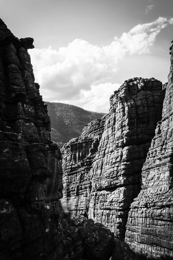 The Grampians National Park Victoria Australia Halls Gap The Grampians Victoria Travel Australia Black And White Bushland Hiking Traveling Outback Australia Australian Landscape Rocky Landscape Lanscape Photography The Grand Canyon Mountain Rock - Object Sky Cloud - Sky Rocky Mountains