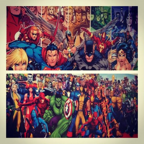 Gotta say can't wait til Matadormall is back! Want these posters! Dccomics Marvelcomics Nerd