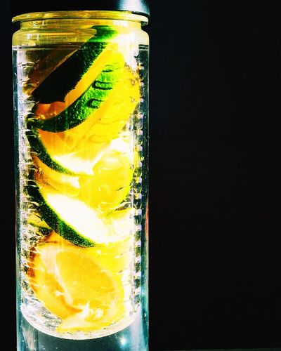 Close-up of drink