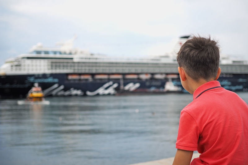 Boy in Trieste