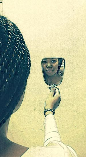 Reflection Mirror Yourself Be Who You Are Beauty EyeEm
