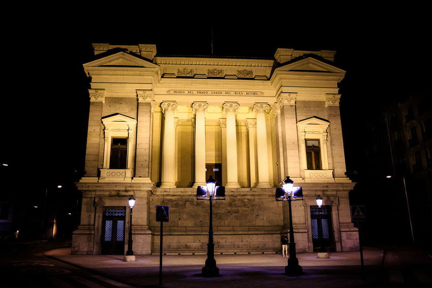 Night Architecture Illuminated Architectural Column Built Structure Building Exterior History The Past Travel Destinations Sculpture Travel Tourism Art And Craft City No People Neo-classical Façade