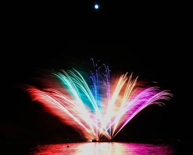 Fireworks Moon