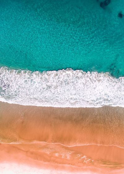 Aerial view of a stunning beach by drone Drone  Dronephotography Droneshot Water Nature No People Beauty In Nature Wave Motion Backgrounds Wallpaper Prints Prints Of Nature Drone Photography Aerial View Aerial Shot Aerialphotography