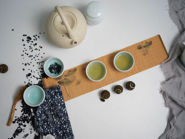 ChineseTea Table Still Life Indoors  High Angle View Directly Above No People Freshness Day Close-up Tea Time Tea Chinese China Chinesetea Hasselblad HasselbladX1D Photography The Week On EyeEm Investing In Quality Of Life Studio Shot