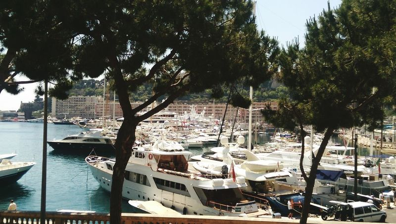 Monte Carlo Port And Yachts Relaxing