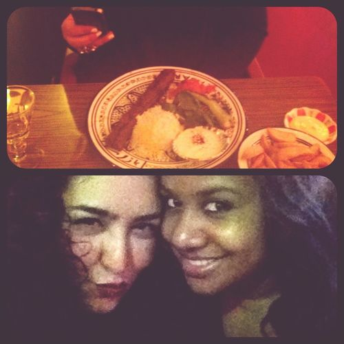 Dinner Friends Good Times Eating With My Persian DollFace