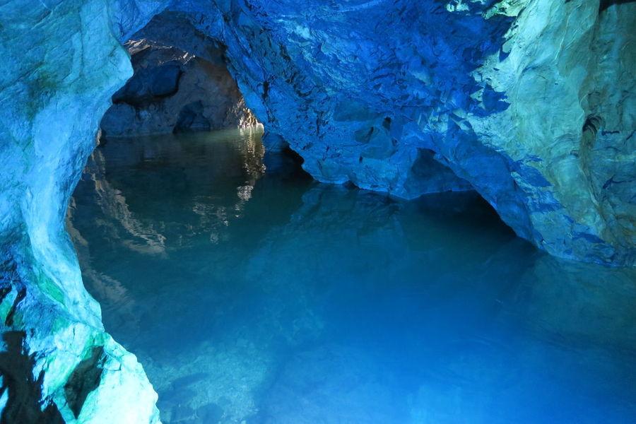 稲積水中鍾乳洞 洞窟 大分 Japan Nature