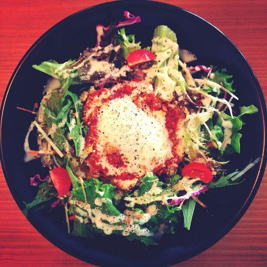 ランチメニュー、ミート丼♪(´ε` ) Lunch