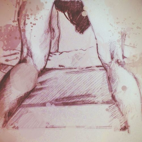 Lust is so inadequate. And loving exhausts me. Painting Sketch Drawing Fornication
