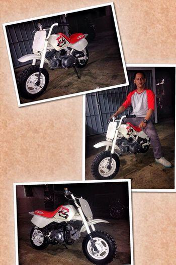 Love honda Motorcycles Z50R Classic Bike Enjoying Life Taking Photos