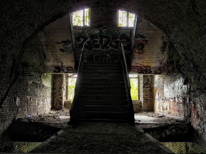 Abandoned built structure