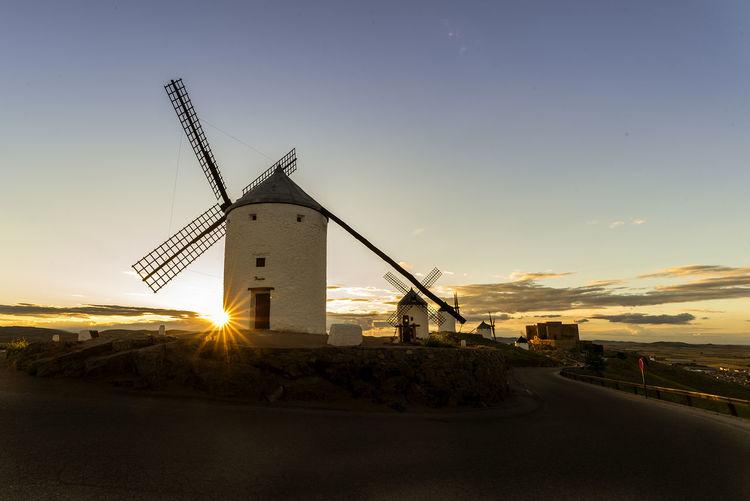 Quixote Toledo Spain Windmill