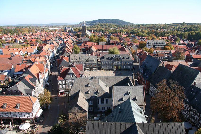 Goslar Goslargermany Harz Niedersachsen OverviewPoint