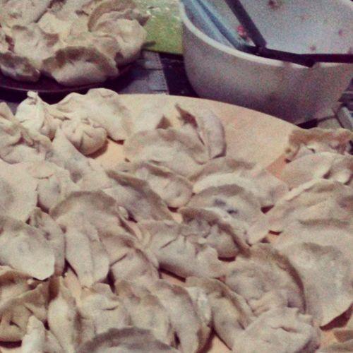 Homemade jiaozi Momentidigioia 饺子 中国 北京