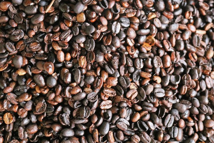 Coffee! Close-up Canonphotography Canon Coffee Brown Backgrounds Timber Large Group Of Objects Stack No People