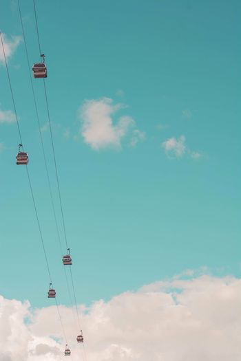 London cable car Taking Photos Check This Out Urban Minimalism Blue Sky