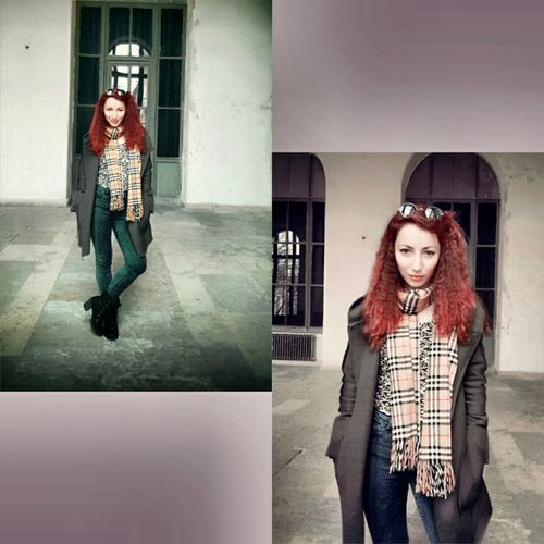 Picoftheday Streetphotography Pictureoftheday Photography Pretty Girl Redhair Shcool Life Shcool Self Portrait Itu1773 Taşkışla Fashion&love&beauty Pretty Istanbul City Street Fashion Collage