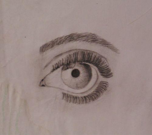 Close-up One Person Indoors  Eyelash Eyeball Day Young Adult Nikon Drawing Draw Blackandwhite