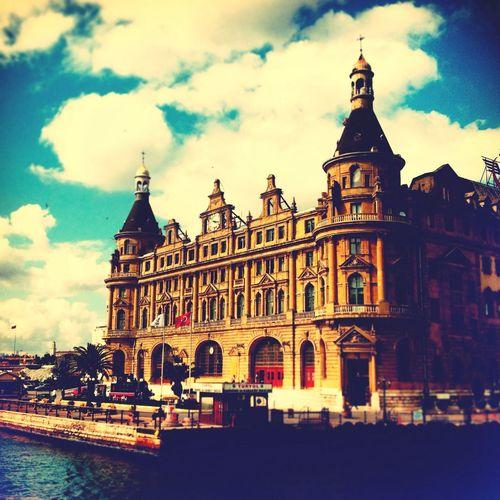 Istanbul Haydarpasa Tarihimekan Historical Building