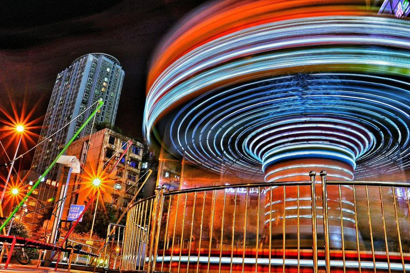 Longexposure Longexposurephotography Spinning Wheel Merrygoround Private Ideas Magic Mission