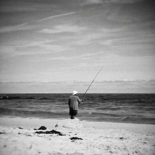 LBI Beachhaven Fisherman Beach Fishing