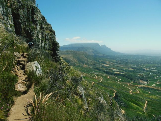 View from Elephants Eye with Table Mountain in the distance. Landscape Nature Scenics Outdoors Beauty In Nature Mountain Day Sky EyeEmNewHere EyeEm Best Shots Nature Photography South Africa Table Mountain