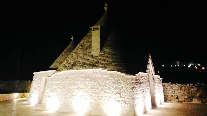 Trulli by night Trulli Illuminated Night Outdoors Italy Abstractart Silhouette Puglia Apulien No People Trullilovers