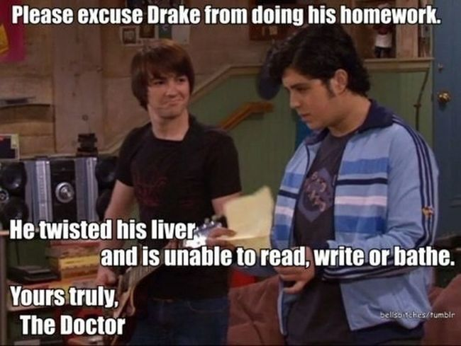 Drakeandjosh Comedy Nickelodeon Memories Favourites