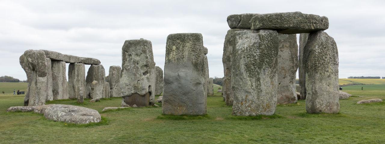 Stonehenge Day Grass No People Outdoors Prehistoric Monument Solstice Stonehenge