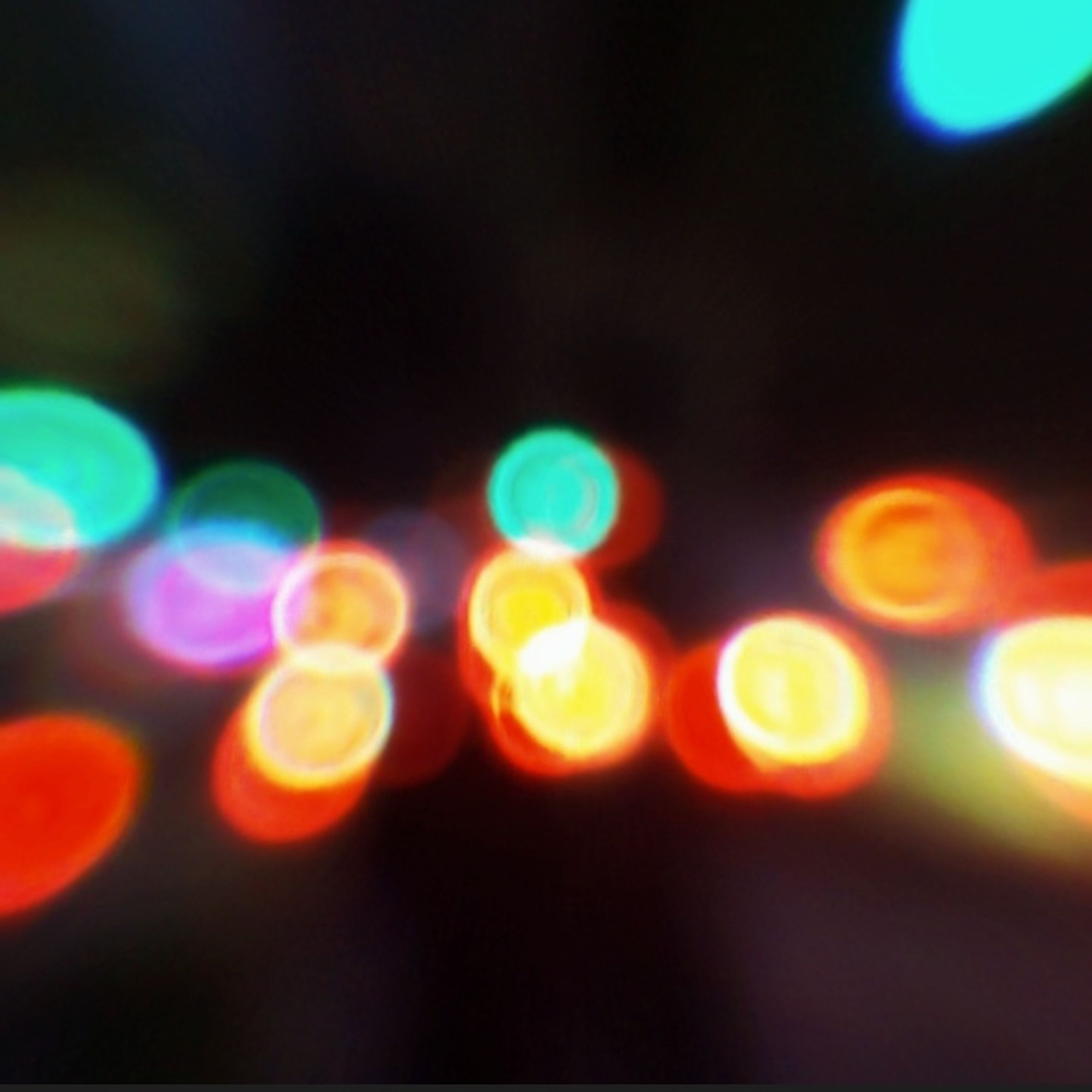 illuminated, defocused, lighting equipment, light effect, circle, lens flare, shiny, glowing, night, no people, abstract, pattern, multi colored, disco lights, projection, close-up, projection equipment, futuristic, indoors