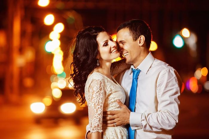 Two People Love Heterosexual Couple Togetherness Romance Couple - Relationship Dating Embracing Night Adults Only Affectionate Adult Flirting Date Night - Romance Happiness Young Men Women Face To Face Young Adult Waist Up Neon Life