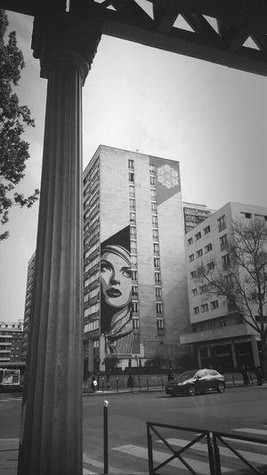 Streetart Blackandwhite Shepard Fairey Paris13