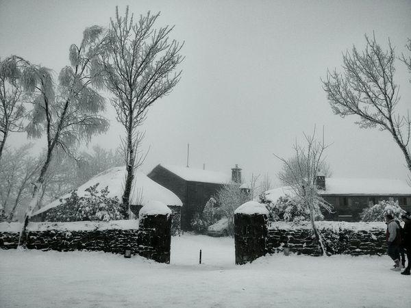 O Cebreiro. O Cebreiro Neve Snow Galiza Inverno