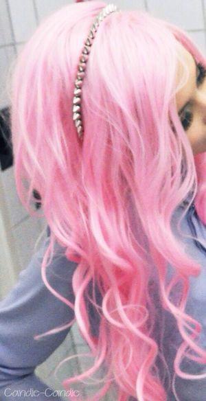 Colored Hair Pink Hair